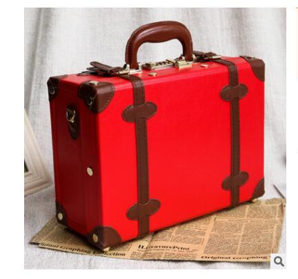 Bagaj ve Çantalar'ten Omuz Çantaları'de Kadınlar seyahat bavul bayan bavul vintage kadınlar bagaj bavul seyahat çantası Bagaj Çantası kadın için Kabin Bavul kadınlar Için'da  Grup 1