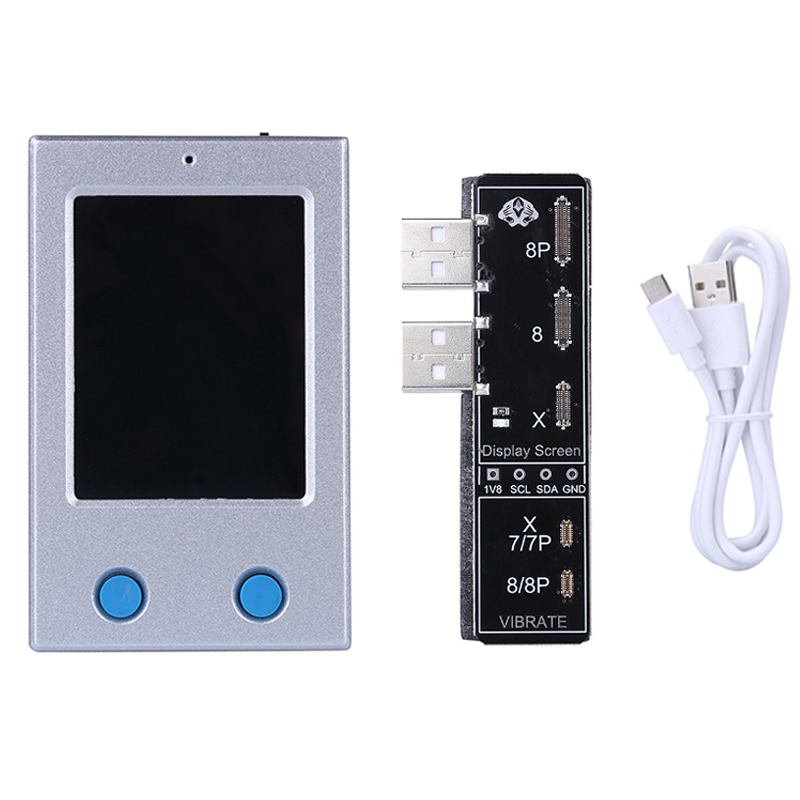 LCD Screen EEPROM Photosensitive Data Programmer Read Write Backup Programmer for iPhone 8 8P X Vibrate Code Reading Writing read write inc my reading and writing kit becoming a reader