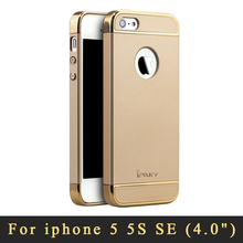 Для iPhone SE чехол оригинальный iPaky бренд 3 в 1 люкс пластик жесткий чехол для iPhone 5S Coque крышка для iPhone 5 5S 5SE 5 se случае