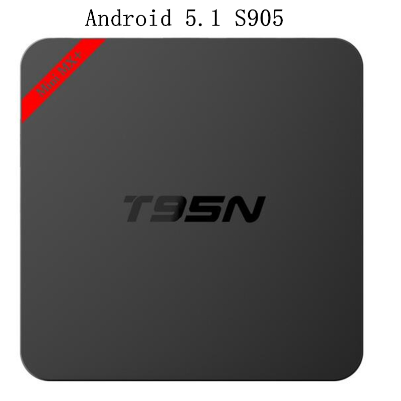 Android 5.1 TV Box t95n amlogic s905 Quad Core wifi 4K Loaded add-ons 1080i/p set top box