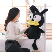 New Coming 1pc 55cm 75cm Cute Black Chicken Plush Toy Stuffed Animal Plush Doll Baby Birthday