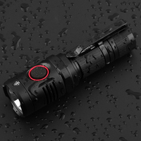 Mini Portable LED Flashlight Usb Rechargeable Aluminum Waterproof Tactical LED Torch 1060LM For Camping With 18650 Battery
