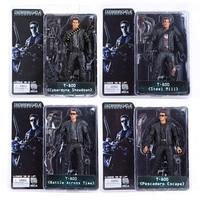 4 stks/partij Gratis Verzending NECA De Terminator 2 Action Figure T-800 ENDOSKELETON Figuur Toy 7