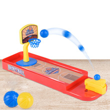 New Mini Desktop Shooting Game Funny Ejection Basketball Contest Assembled Shoot a Basket Toys Children Kids Birthday Gifts
