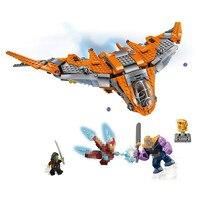 Super Heroes Thanos Ultimate Battle Avengers Infinity War Building Block Bricks Set Movie Classic Toys Marvel Compatible Legoe