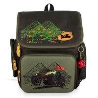 2016 Russia Style Waterproof Orthopedic Backpack School Bags For Boys Cartoon Cars Schoolbag Ultralight Kids Satchel