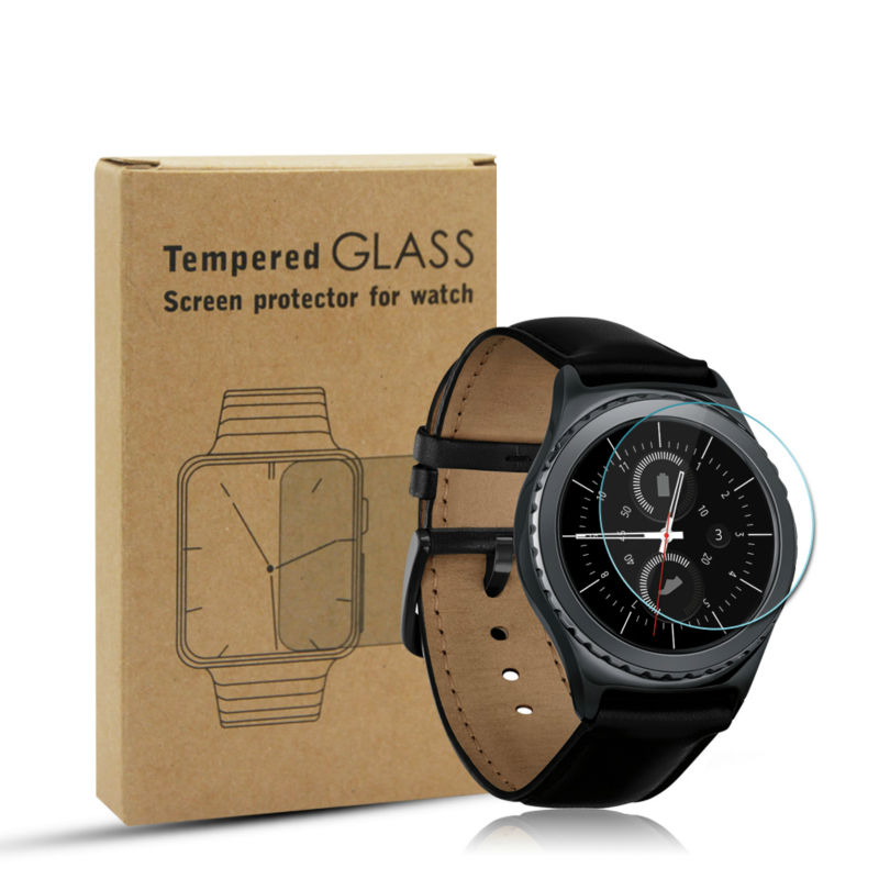 Shenzhen Yiheng Opto-Elec Technology Co., Ltd. Premium Tempered Glass Screen Protector for Samsung Gear S2 9H 2.5D Protective Film for Gear S2 Anti Scratch Anti Shatter
