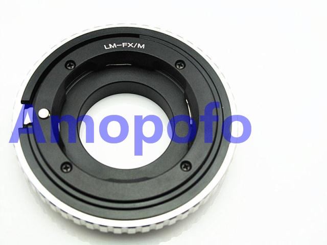 Amopofo LM FX M Adapter For Leica M LM Lens to Fujifilm FX X Pro1 X