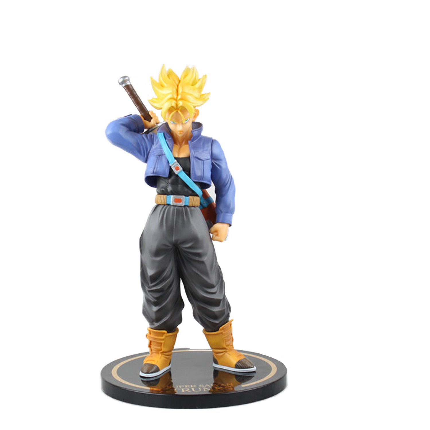 Chanycore Anime Dragon Ball Z 24CM Super saiyan TRUNKS MH Figuarts Zero EX VEGETA Action Figures PVC Limit ForCollectible Toy anime dragon ball figuarts zero super saiyan 3 gotenks pvc action figure collectible model toy 16cm kt1904
