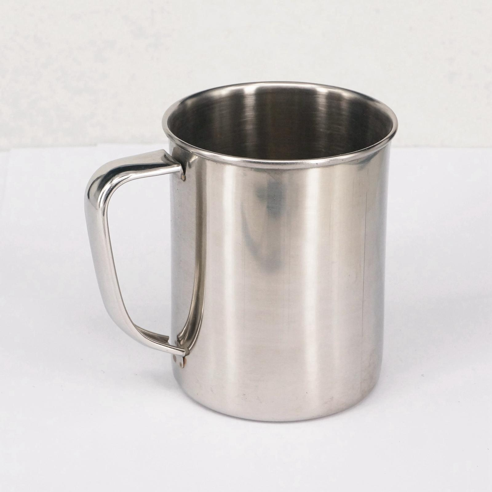 old daddy's pneumatic store 500ml Chemistry Laboratory Stainless Steel Measuring Beaker Cup With Pour Spout