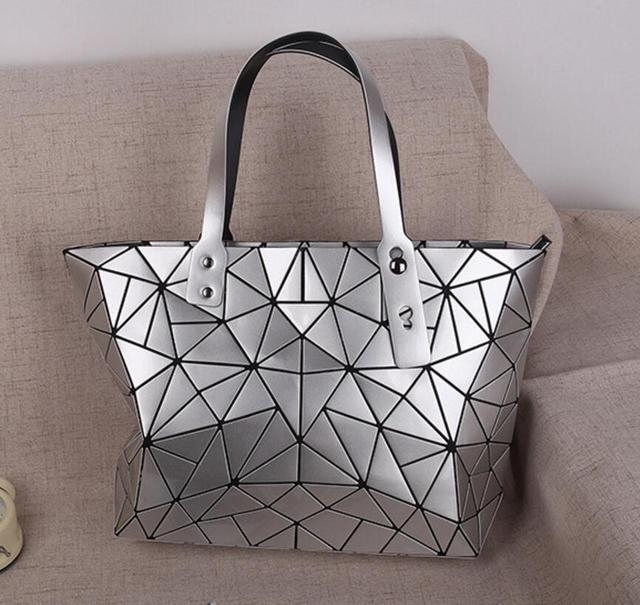 550abd5fbfc 2017 Hot Sale Women Bao Bag Fashion female Folding Shoulder Bag Handbags  Fashion Casual Tote Top Handle Bags Bolsas