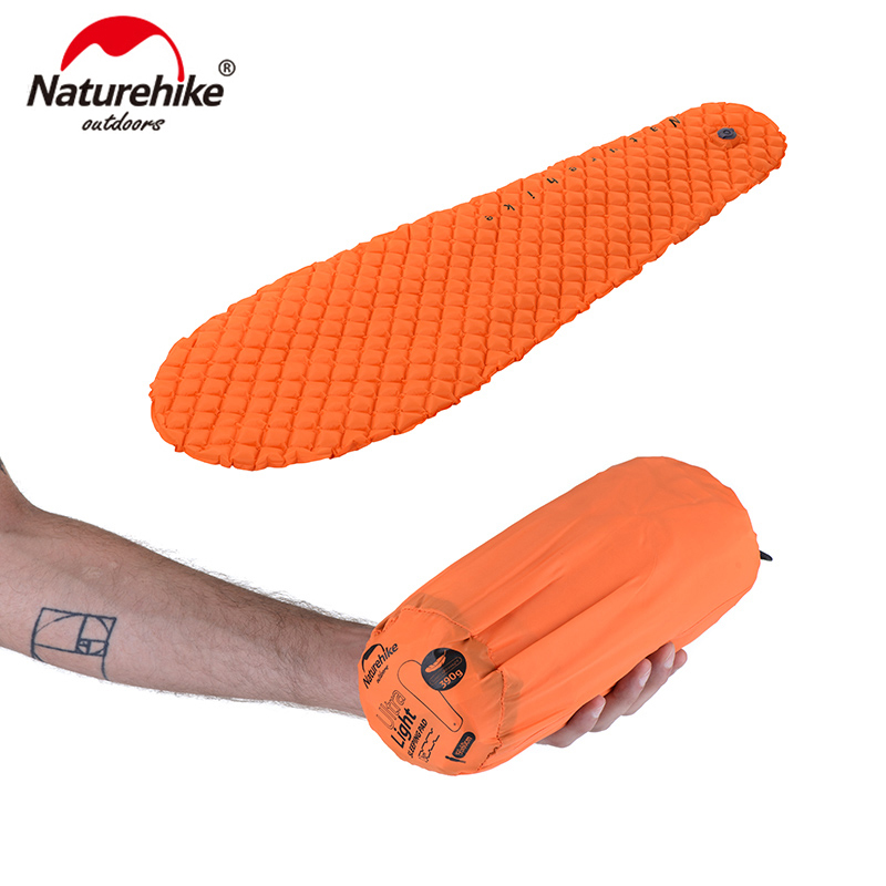 Naturehike TPU Inflatable Mattress 1 Persom Ultralight Portable Sleeping Pad NH17T023 T-in Camping Mat from Sports & Entertainment    1
