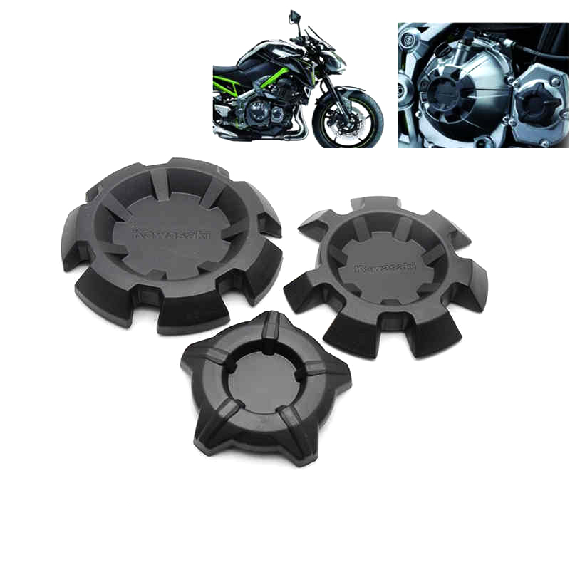New High Quality ABS Plastic Motorcycle Engine Stator Protective Case Cover For <font><b>Kawasaki</b></font> Z900 <font><b>Z</b></font> <font><b>900</b></font> <font><b>2017</b></font> image