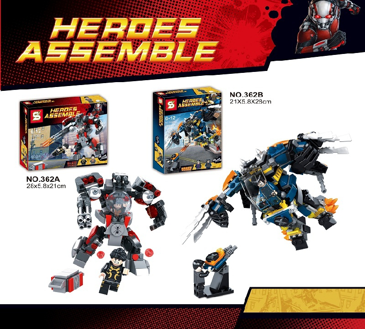 Buy lego ant man and get free shipping on AliExpress.com
