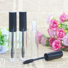 10mL Pop Empty Black Eyelash Tube Mascara Cream Liquid Vial/Container Plastic DIY Refillable Bottles Makeup Tool Accessories