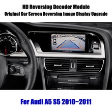 Parking-Camera Audi A5 Decoder-Accessories Alarm-System Rearview-Backup Reverse-Reversing