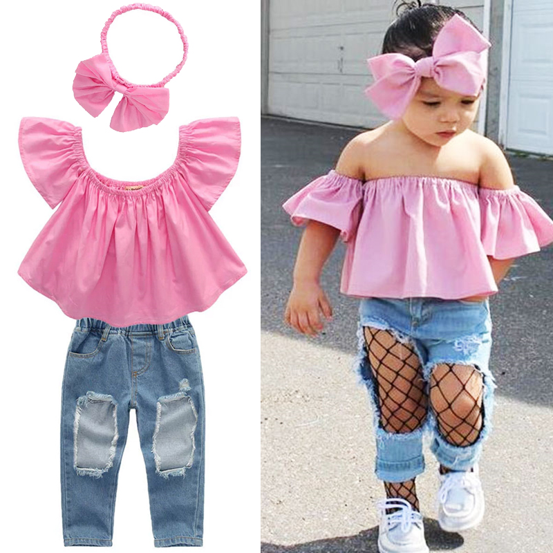 aliexpress  buy girls clothes summer clothes pink off