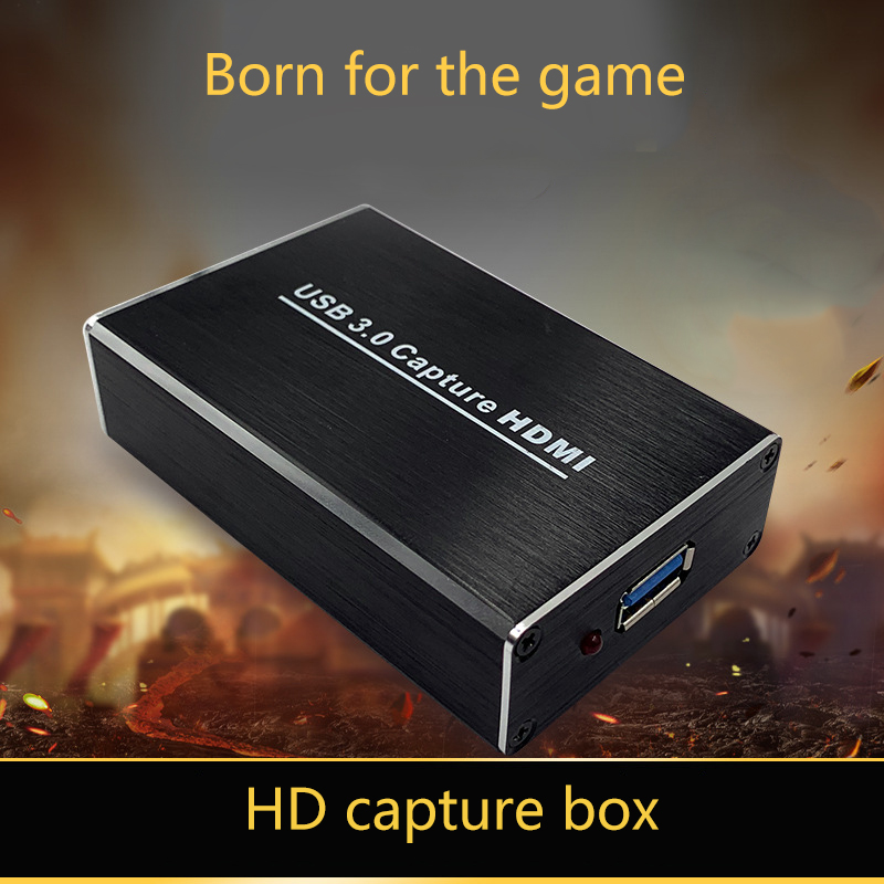 HDMI to USB3.0 Video Capture Adapter Box 1080P Dongle Card Compatible for Linux Windows Mac GDeals