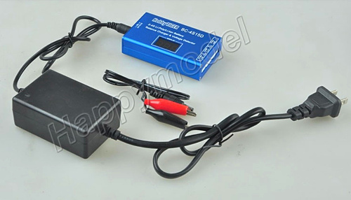 Free Shipping BC-4S15D Lipo Battery 2S 3S 4S Balance Charger w/ Display Screen 1s 2s 3s 4s 5s 6s 7s 8s lipo battery balance connector for rc model battery esc