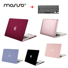MOSISO For Macbook Pro 12 13 15 inch Retina Frost Plastic Hard Case Cover For Apple
