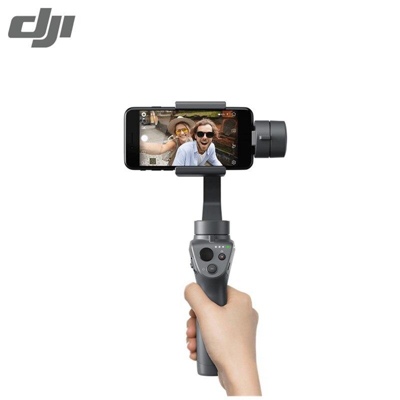 DJI Осмо мобильный 2 ручной Gimbal стабилизатор Активный Трек Motionlapse регулятор масштабирования для смартфонов
