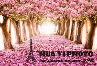 8x10ft Art fabric cherry tree photography backdrop Customize wedding Studio Backdrop Digital Printing Floral Background D 1647