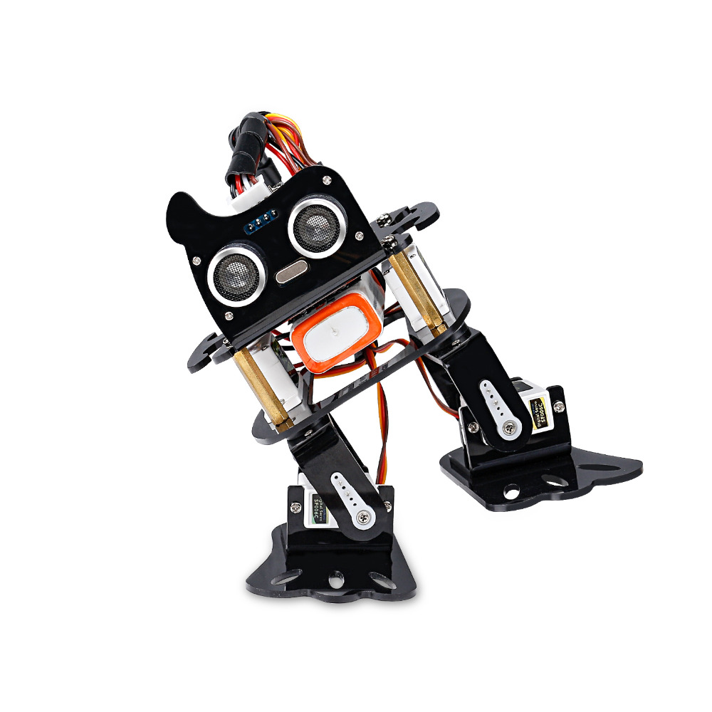 Image 2 - SunFounder DIY 4 DOF Robot Kit  Sloth Learning Kit for Arduino Nano  DIY Robot-in Integrated Circuits from Electronic Components & Supplies