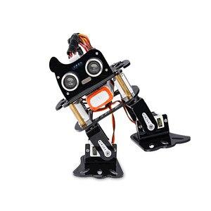 Image 2 - Sunfounder diy 4 dof robô kit sloth aprendizagem kit para arduino nano diy robô