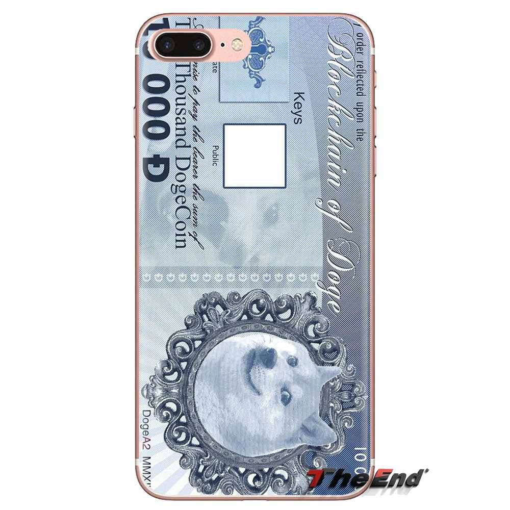 Dành cho Samsung Galaxy Samsung Galaxy J1 J2 J3 J4 J5 J6 J7 J8 Plus 2018 Prime 2015 2016 2017 Doge Đồng Đô La Meme mone Tiền Nghệ Thuật Mềm Mại Trong Suốt