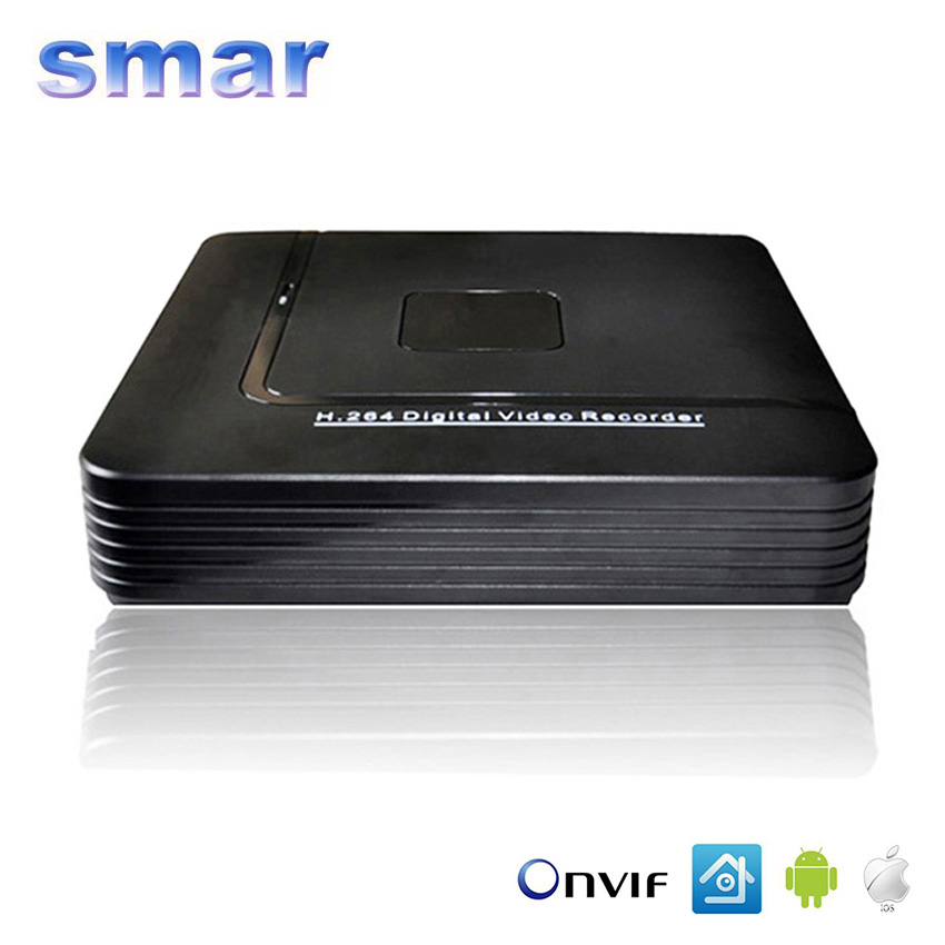 CCTV Mini HD NVR 4CH Video Recorder Onvif 8 Channel H 264 Network DVR For 720P
