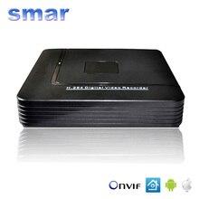 CCTV Mini HD Onvif NVR $ number CANALES Grabador de Vídeo H.264 de 8 Canales red DVR De 720 P 1080 P P2P Cámara IP Sistema de Seguridad Mejor precio
