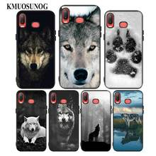For Samsung A6S A8S A6 A7 A8 A9 A5 A3 Star Plus 2018 2017 2016 Black Silicon Phone Case Cool Wolf  Print Style