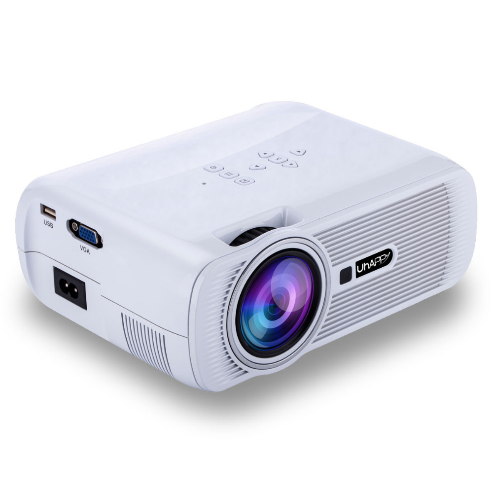 LCD LED Mini Projector Home Theater Projector 5000lm HD Support 23 languages HDMI USB AV Audio