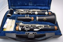 BUFFET B12 B Flat 17 Keys Clarinet Professional Woodwind Instruments Silver Plated Button Musical Instrument With Cleaning Cloth