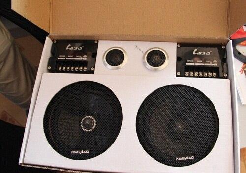 High End Suit Modified Sound Car Speaker Car Horn In Speakers Sets