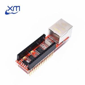 1pcs ENC28J60 Ethernet Shield V1.0 compatible Nano 3.0 RJ45 Webserver Module(China)