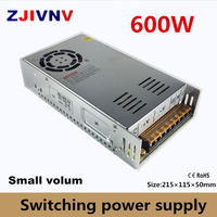 600W Switching Power Supply single output AC DC 5v 12V 13.8v 15V 24V 27V 36V 48V 50V 60V 72V ,SMPS 12V 50A, 15v 40A