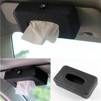 Car Sun Visor Type Tissue Box For Mitsubishi Asx Lancer 10 9 Outlander 2013 Pajero Sport