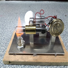 Upgrade Stirling engine Model Building Kits  Education DIY Toy Gift For Kids Craft Ornament Discovery
