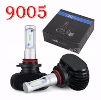 1 Set 9005 HB3 S1 50W 8000LM LED Headlight Slim Conversion Kit Seoul CSP Y19 Chips