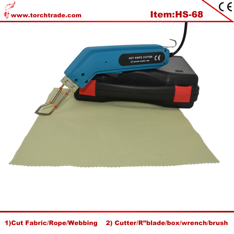 Electric Cloth Fabric Cutter Hot Knife Tailor's Electric Scissors