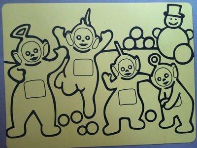 Cartes de stickers pour kid 's sable art, 1000 A4 taille + 1000 A5 taille carton jaune