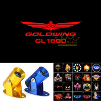 GOLDWING GL 1800 Logotipo vermelho Da Motocicleta Fantasma Sombra Laser Holofotes Projector LED Logo Luz|light led -