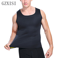 2017 Hot Selling Man Fitness Slimming Vests Body Shaper Men S Waist Sweat Corsets Weight Loss