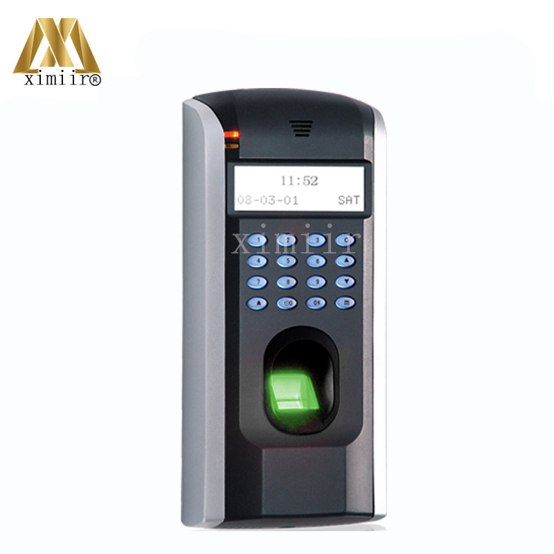 High Quality ZK F7 Standalone TCP/IP Biometric Fingerprint Access Control System zk f7 tcp ip or rs232 and rs485 biometric finger print door access controller zk teco f7 high speed time recorder with software