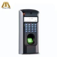 Hoge Kwaliteit ZK F7 Standalone TCP/IP Biometrische Vingerafdruk Toegangscontrole Systeem Apparaat voor vingerafdrukherkenning Veiligheid en bescherming -