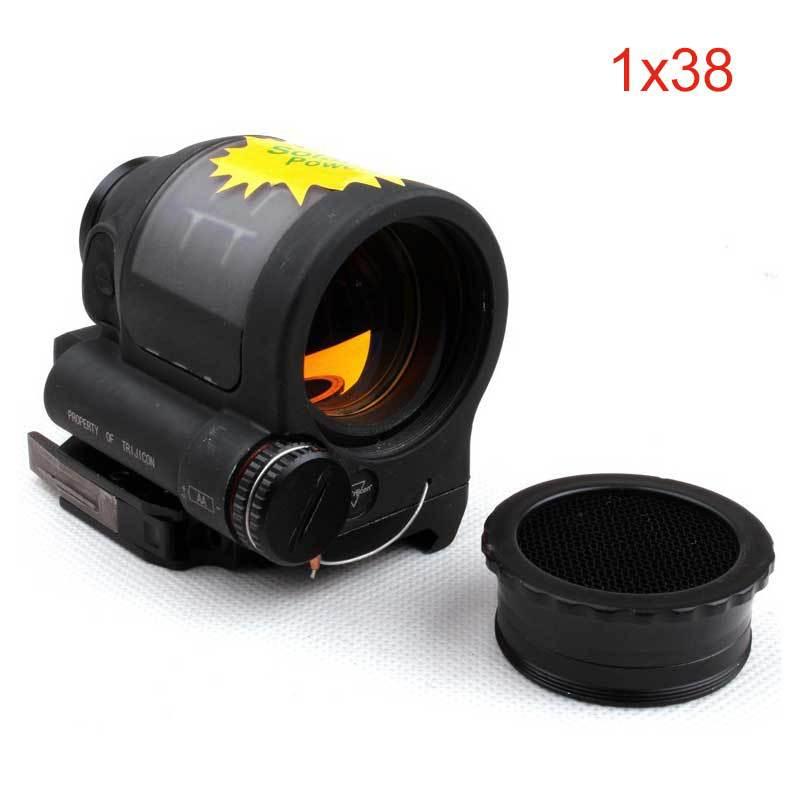 Здесь можно купить   TMC SRS 1x38 Solar Powered Red Dot Sealed Reflex Sight Red Dot Sight Scope Tactical Hunting Rifle Scope Спорт и развлечения