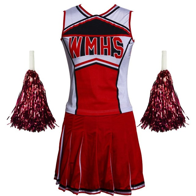 d2cadf3259 S-XXXL Hot Selling Sexy Cheerleading Costumes Cheer Uniform High School  Musical Girl Cheerleader Fancy Dress