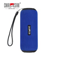Chialstar Outdoors Portable Bluetooth 4 1 Speaker With IPX6 Waterproof Fabric M2 Blue Wireless Sports Portable