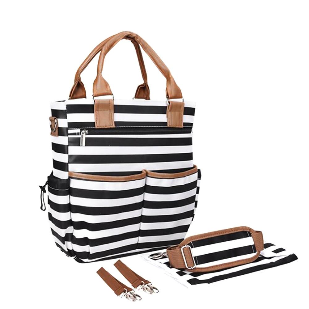 Mummy Diapers Bags Maternity Nappy Bag Large Capacity Travel Baby Bottle Cloth Portable Nappy Changing Handbag Nursing Bag P25